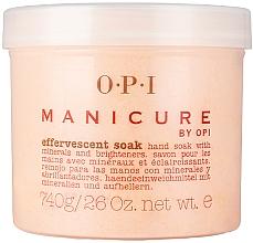 Парфюмерия и Козметика Ексфолираща пудра за маникюр с минерали - O.P.I. Manicure Effervescent Soak