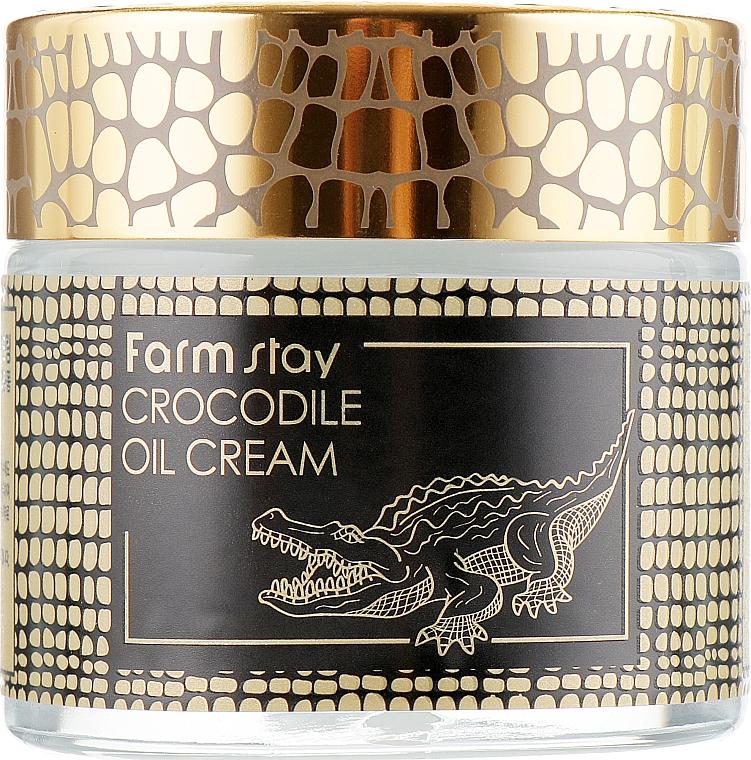 Крем за лице с крокодилска мас - FarmStay Crocodile Oil Cream — снимка N2