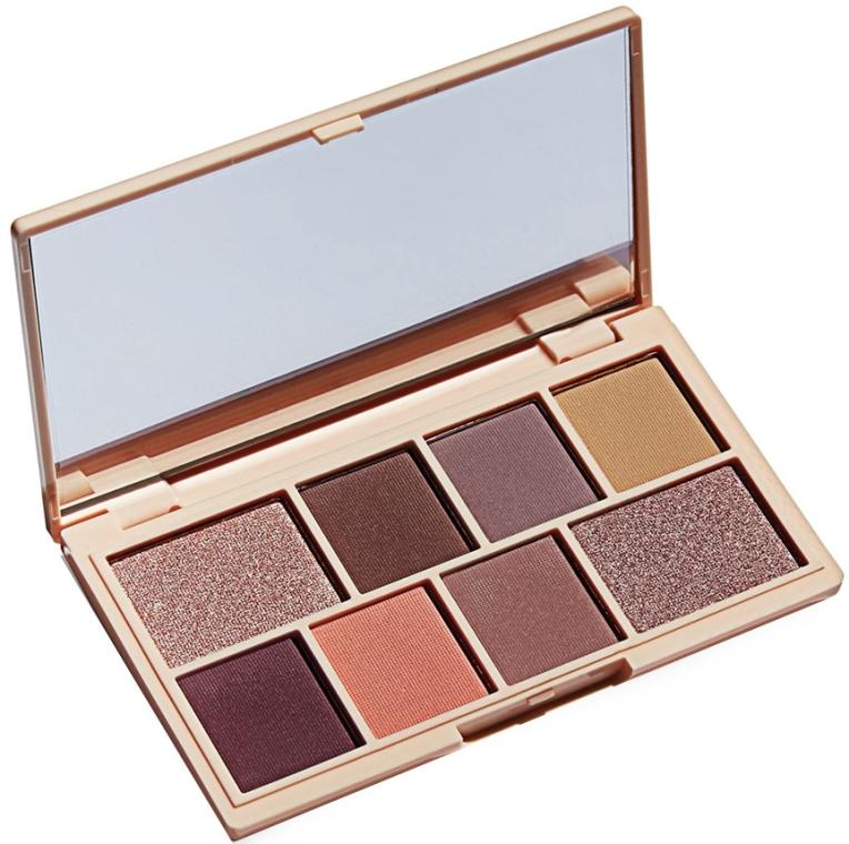 Палитра сенки за очи, 8 цвята - I Heart Revolution Mini Eyeshadow Palette