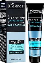 Парфюмерия и Козметика Крем депилатоар за мъже - Bielenda Only For Man Active Formula Cream