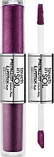 Парфюмерия и Козметика Двойно течно червило за устни - Touch In Sol Metallist Liquid Foil Lipstick Duo