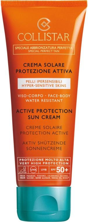 Интензивен слънцезащитен крем - Active Protection Sun Cream Face Body SPF 50+ — снимка N1