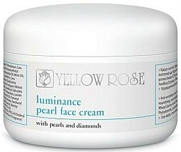 Парфюмерия и Козметика Перлен крем за лице - Yellow Rose Luminance Pearl Face Cream