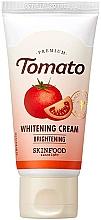 Парфюмерия и Козметика Крем за лице - Skinfood Premium Tomato Whitening Cream