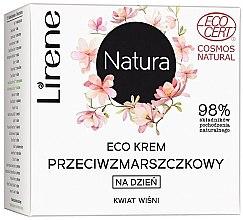 Парфюмерия и Козметика Дневен крем за лице с екстракт от вишнев цвят - Lirene Natura Eco Cream
