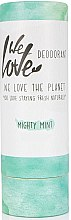 Парфюмерия и Козметика Освежаващ дезодорант стик - We Love The Planet Mighty Mint Deodorant Stick