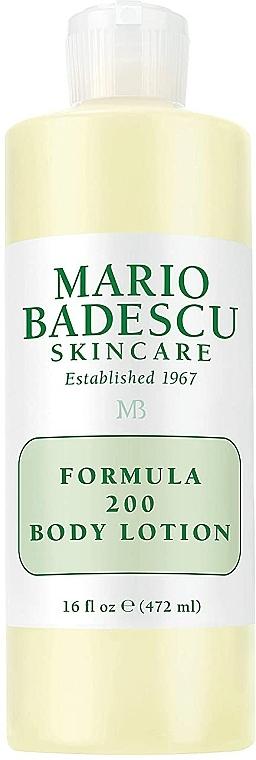 """Лосион за тяло """"Формула 200"""" - Mario Badescu Formula """"200"""" Body Lotion — снимка N2"""