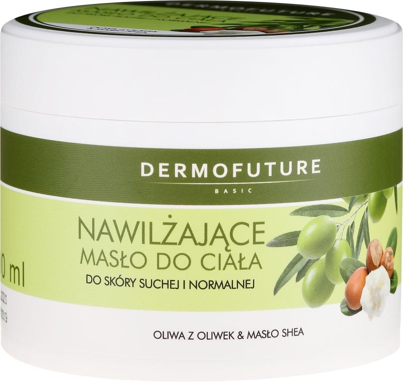 Хидратиращо масло за тяло за суха и нормална кожа - DermoFuture — снимка N1