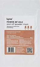 Парфюмерия и Козметика Подмладяваща пилинг маска за лице - Lynia Power Of Oil Peel Off Powder Mask