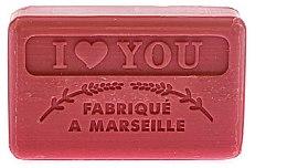 Парфюмерия и Козметика Марсилски сапун - Foufour Savonnette Marseillaise I Love You