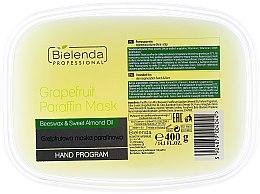 Парфюми, Парфюмерия, козметика Парафинова маска с грейпфрут - Bielenda Professional Grapefruit Paraffin Mask Beeswax & Almond Oil
