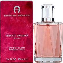 Парфюмерия и Козметика Etienne Aigner Private Number Women - Тоалетна вода