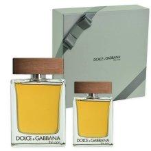 Парфюми, Парфюмерия, козметика Dolce & Gabbana The One for Men - Комплект (тоал. вода/100ml + тоал. вода/30ml)
