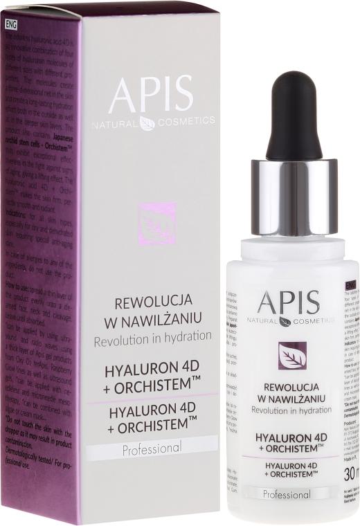 Серум за лице - APIS Professional Hyaluron 4D + Orchistem