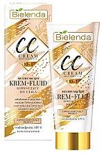 Парфюмерия и Козметика CC крем-флуид за тяло - Bielenda Magic CC 10in1 Body Correction Cream Waterproof Tanning Effect SPF6