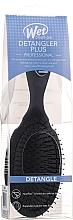 Парфюмерия и Козметика Четка за коса, черна - Wet Brush Pro Detangler Plus Hair Brush Black
