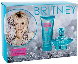Парфюми, Парфюмерия, козметика Britney Spears Curious - Комплект (парф. вода/100ml + крем/100ml)