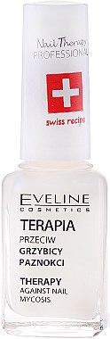 Противогъбична терапия за нокти - Eveline Cosmetics Nail Polish for Nail Fungus Feet & Hands Mykose — снимка N2