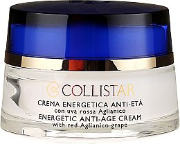 Парфюми, Парфюмерия, козметика Енергиен крем против стареене с грозде - Collistar Energetic Anti-Age Cream With Red Aglianico Grape (тестер)
