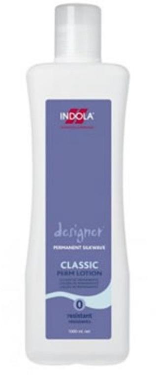 Лосион 0 за химическо къдрене за трудно обработваща се коса - Indola Designer Form Perm Classic Lotion — снимка N1