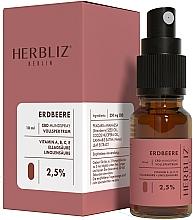 Парфюмерия и Козметика Спрей за уста с масло от ягода и канабидиол 2,5% - Herbliz CBD Oil Mouth Spray 2,5%
