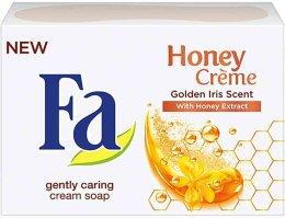 """Парфюми, Парфюмерия, козметика Сапун """"Аромат на златен ирис"""" - Fa Honey Creme Golden Iris Cream Soap"""