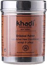 """Парфюми, Парфюмерия, козметика Билков прах """"Шикакай"""" за измиване на цъфтяща коса - Khadi Shikakai Pulver"""
