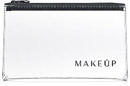 """Парфюми, Парфюмерия, козметика Козметичен прозрачен несесер """"Flat Glow"""" 23x13cm - MakeUp"""