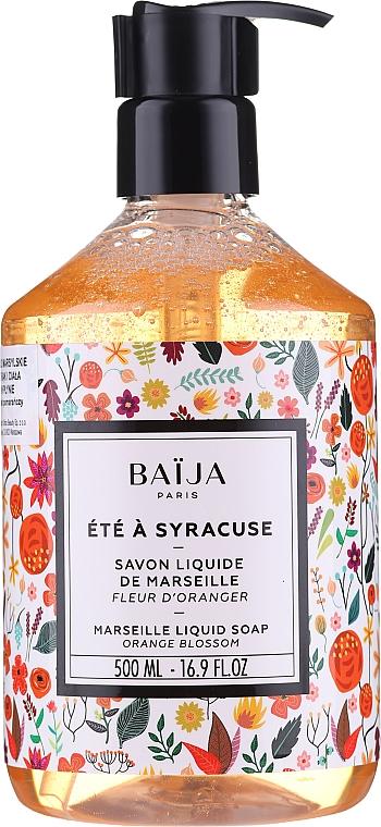 Течен марсилски сапун - Baija Ete A Syracuse Marseille Liquid Soap — снимка N1