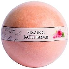 """Парфюмерия и Козметика Бомбичка за вана """"Роза"""" - Kanu Nature Fizzing Bath Bomb Rose"""