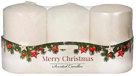 """Комплект ароматни свещи - Artman """"Merry Christmas"""" (candle/3 x 22g) — снимка N1"""