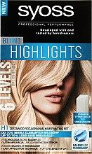 Парфюми, Парфюмерия, козметика Изсветлител за коса - Syoss Blond Highlights