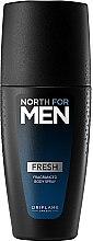Парфюми, Парфюмерия, козметика Парфюмен спрей за тяло - Oriflame North for Men Fresh Fragranced Body Spray