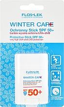 Парфюмерия и Козметика Зимен слънцезащитен стик за лице - Floslek Winter Care Protective Stick SPF50