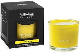 "Парфюмерия и Козметика Ароматна свещ ""Грейпфрут"" - Millefiori Milano Natural Candle Pompelmo"
