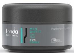 Парфюми, Парфюмерия, козметика Матова глина за коса, нормална фиксация - Londa Professional Men Shift It Matt Clay