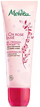 Парфюми, Парфюмерия, козметика Натурален масажен гел за тяло против целулит - Melvita L'Or Rose Givre Organic Icy Refining Gel