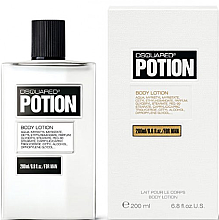 Парфюми, Парфюмерия, козметика DSQUARED2 Potion for Man - Мъжки лосион за тяло