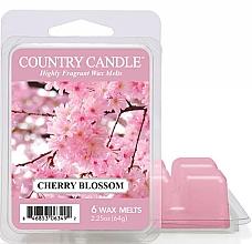 Парфюмерия и Козметика Восък за арома лампа - Country Candle Cherry Blossom Wax Melts