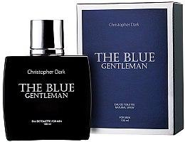 Парфюми, Парфюмерия, козметика Christopher Dark The Blue Gentleman - Тоалетна вода