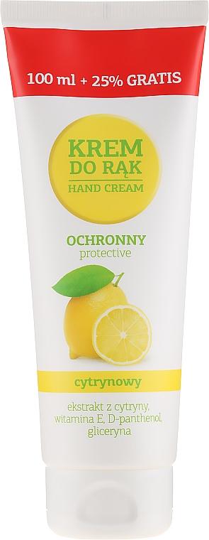 Защитен крем за ръце с лимон - VGS Polska Hand Cream