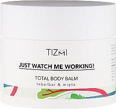 Балсам за тяло - Tizmi Total Body Balm Rhubarb & Mint — снимка N1