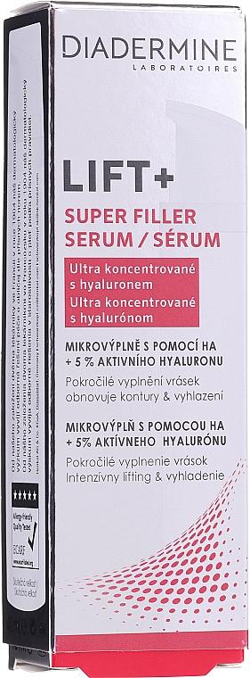 Антистареещ серум с хиалуронова киселина - Diadermine Lift+ Super Filler Serum — снимка N3