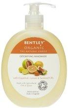 """Парфюми, Парфюмерия, козметика Течен сапун за ръце """"Детокс"""" - Bentley Organic Body Care Detoxifying Handwash"""