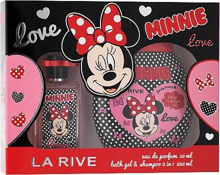 La Rive Minnie - Комплект (парф. вода/50ml+душ гел 2в1/250ml) — снимка N1