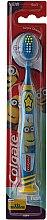 Парфюмерия и Козметика Детска четка за зъби, 6+ години, мека, синя с жълто - Colgate Kids Soft Toothbrush