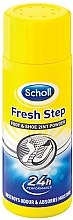 Парфюми, Парфюмерия, козметика Дезодорант-пудра за крака - Scholl Fresh Step Foot & Shoe 2 in 1 Powder