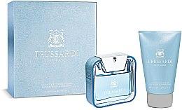 Парфюми, Парфюмерия, козметика Trussardi Blue Land - Комплект (тоал. вода/50ml + душ гел/100ml)