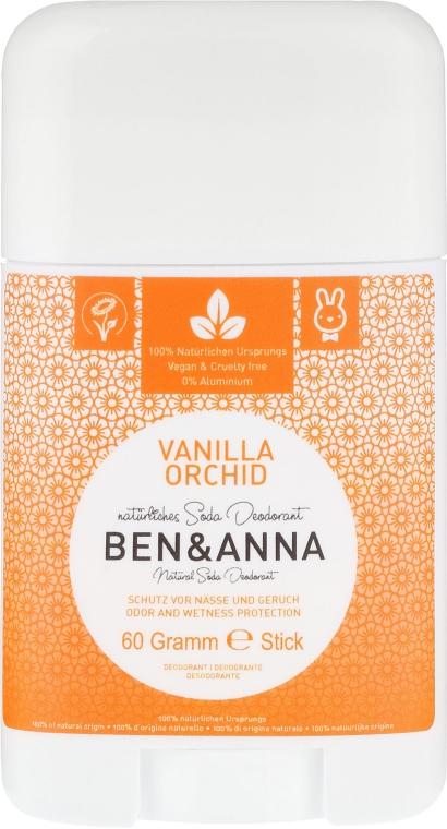Дезодорант на базата на сода с аромат на ванилия и орхидея - Ben & Anna Natural Soda Deodorant Vanilla Orchid