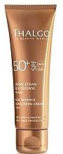 Парфюмерия и Козметика Слънцезащитен крем за лице против стареене - Thalgo Age Defence Sunscreen Cream SPF 50
